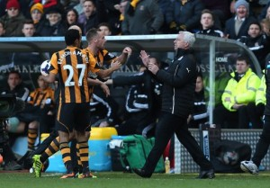 Soccer - Barclays Premier League - Hull City v Newcastle United - KC Stadium