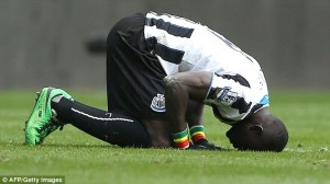 papiss cisse thanks allah
