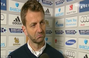 tim sherwood after 4-0 chelsea defreat