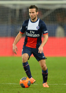 yohan cabaye upright psg