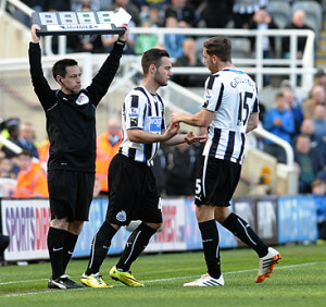 adam armstrong home debut