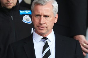 alan pardew black suit white shirt