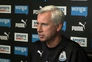 alan pardew press confernce