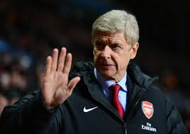 arsene wenger arsenal logo on jacket