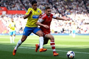 ben arfa in action at soton 4-0