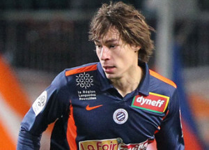 Football : Auxerre / Montpellier - Ligue 1 - 18.12.2010 -