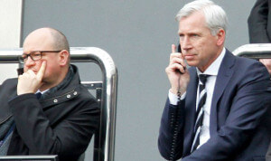 lee charnley and alan pardew