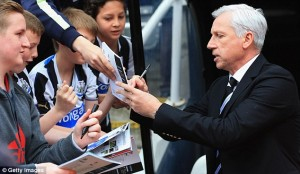 an pardew before the game