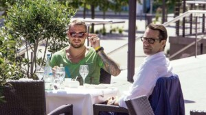 lasogga with manager