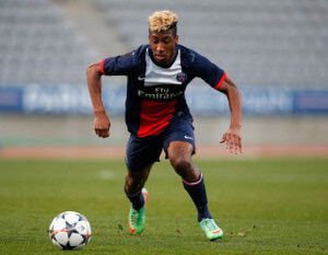Kingsley Coman +Paris+Saint+Germain+FC+v+Real+DQu9ffWonCBl