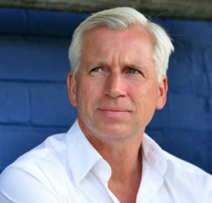alan pardew at oldham