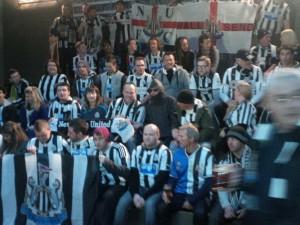 fans at sydney game