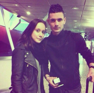 remy cabella with girlfriend