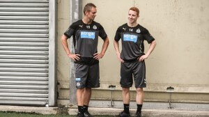 Newcastle United First Team Fitness Training