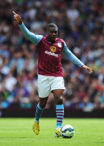 Charles N'Zogbia Villa+v+Newcastle