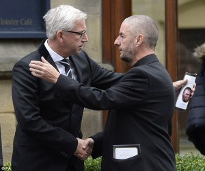 alan pardew with Barry Sweeney