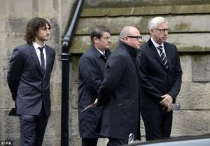 newcastel contingent Sweeney funeral