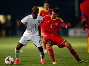 Rolando Aarons +England+v+Romania+U20+International+H0Rv2F0qr_Dl