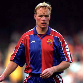Ronald Koeman at Barca