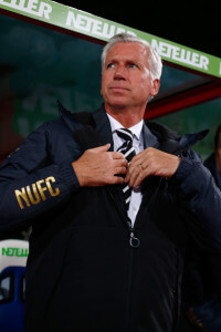 alan pardew stressful looking
