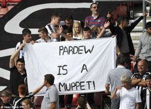 pardew is a muppet