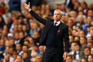 Alan Pardew Tottenham 2-1HEl