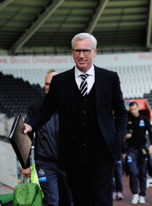 alan pardew - before Swansea game