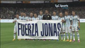 argentina tribuet to jonas