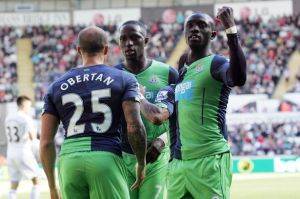 papiss cisse scores second