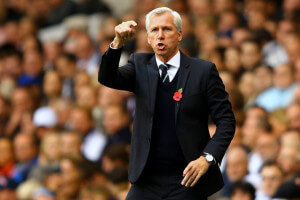 pardew at tottenham 2-1