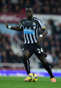 Cheick Tiote at West+Ham