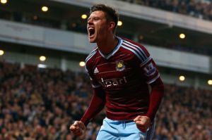 aaron cresswell after scoring