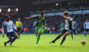 ayoze perez flicks it home