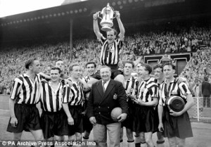newcastle united 1955