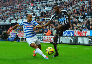 sammy ameobi in action qpr