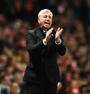 Alan Pardew Arsenal 4-1