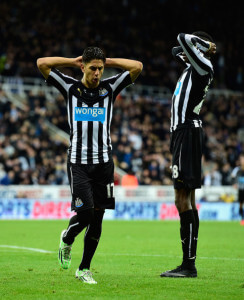 Ayoze Perez - close sunderland
