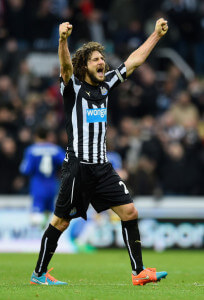 Fabricio Coloccini final whislte Chelsea 2-1