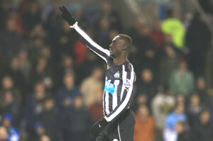 Papiss- Cisse scores at Burnley