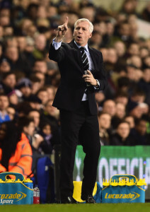 alan pardew at tott 4-0