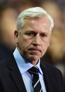 alan pardew at tottenham 4-0