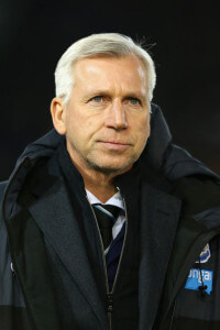 alan pardew burnley first half