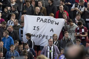 pardew is a muppett