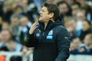 john carver on touchline burnley