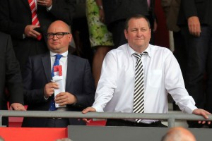 lee charnley mike ashley standing