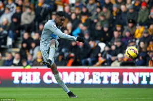 sammy ameobi - great goal hull