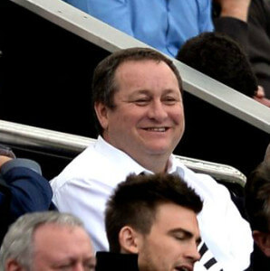 mike Ashley smiling