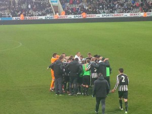 newcastle lads group for extra time