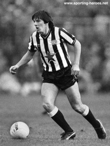 peter beardsley in first spell at newcastle 1984