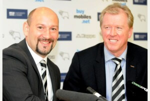 DEvw20131001H-021_C.JPG DEvw20131001H-021_C.JPG Picture: Victoria WilcoxPictured is new head coach Steve McClaren (right) with Sam Rush New Derby County Football Club head coach Steve McClaren at the press conference to officially confirm his appointment. In the conference were chief executive Sam Rush, goalkeeping coach Eric Steele, head coach Steve McClaren and first team coach Paul Simpson.contact dcfc press office 821021 Matt/Tom